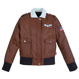 Disney Store Captain Marvel Aviator Jacket For Adults