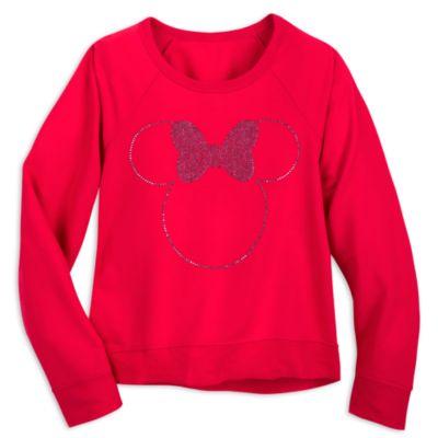 Camiseta de manga larga para mujer Minnie Rocks The Dots