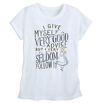 Disney Store Oh My Disney Alice in Wonderland Ladies' T-Shirt