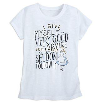 Disney Store - Oh My Disney - Alice im Wunderland - T-Shirt für Damen