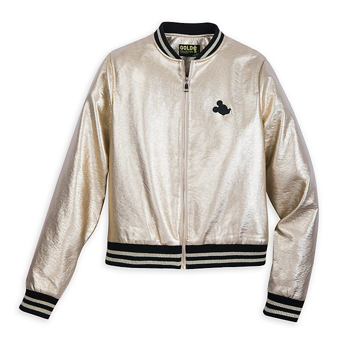 Blouson pour adultes Mickey Mouse Black and Gold, Disney Store