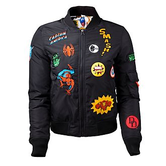 Marvel Comics Ladies' Bomber Jacket