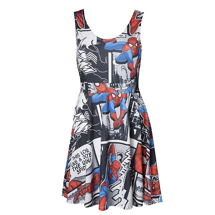 Marvel Comics Spider-Man Ladies' Dress