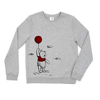 Disney Store Sweatshirt Winnie l'Ourson pour femme, collection Jean-Christophe et Winnie