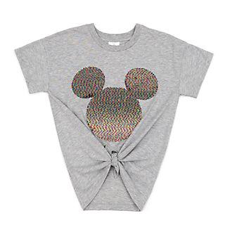Camiseta lentejuelas reversibles Mickey Mouse para mujer, Disney Store