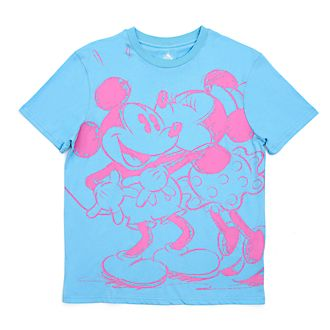 Disney Store Mickey and Minnie T-Shirt For Adults