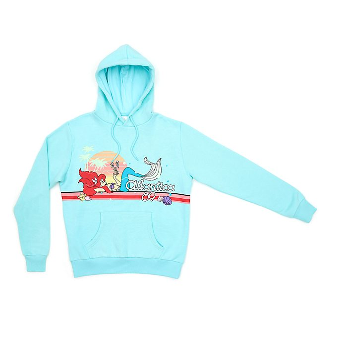 Disney Store The Little Mermaid Hooded Sweatshirt For Adults