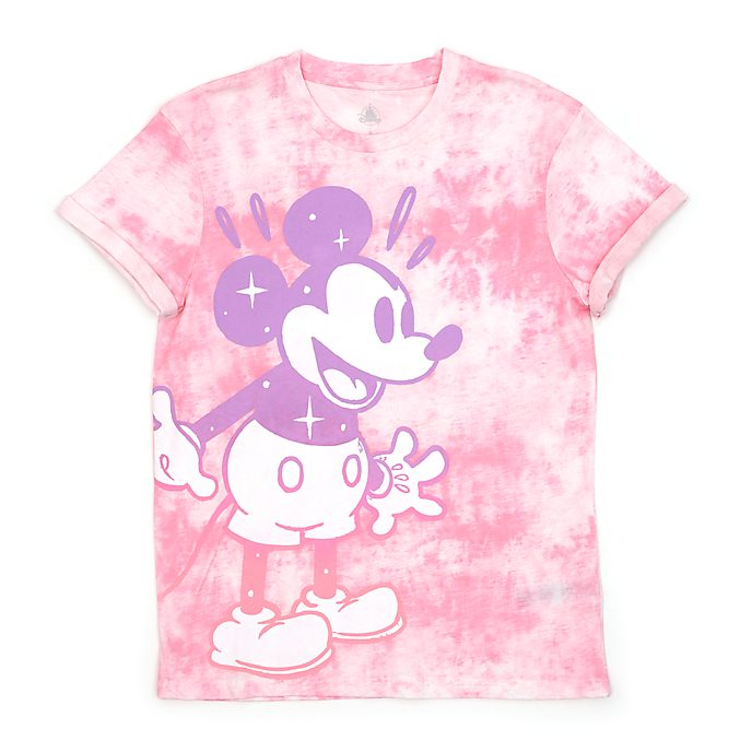 Disney Store Mickey Mouse Tie-Dye T-Shirt For Adults