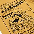 Disney Store T-shirt Steamboat Willie pour adultes