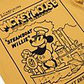 Disney Store - Steamboat Willie - T-Shirt für Erwachsene