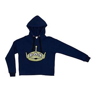 3d2a6191ce8 Disney Store Alien Ladies  Hooded Sweatshirt