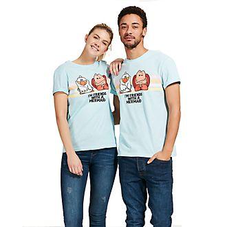 Disney Store T-shirt Sébastien et Eurêka pour adultes