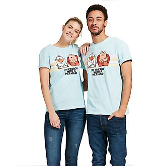 Disney Store Sebastian and Scuttle T-Shirt For Adults