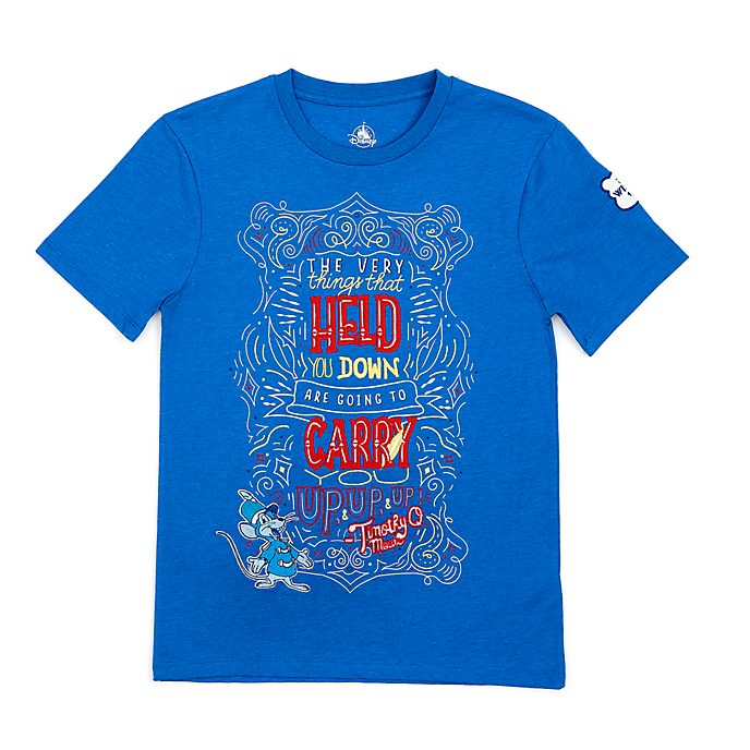 Disney Store Dumbo Disney Wisdom T-Shirt For Adults, 1 of 12