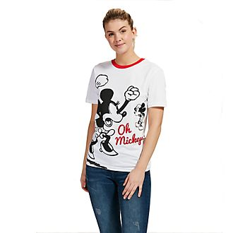 Camiseta Mickey y Minnie para adultos, Disney Store