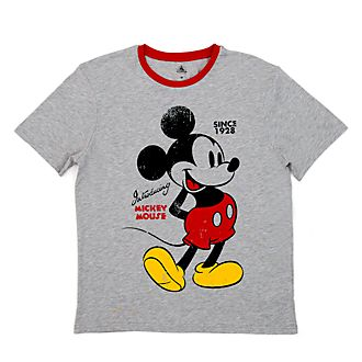 Disney Store T-shirt Mickey Mouse vintage pour adultes