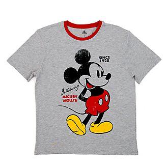 Camiseta vintage Mickey Mouse para adultos, Disney Store