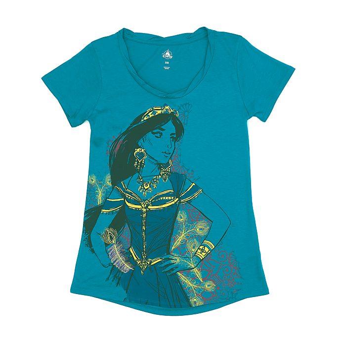 Camiseta princesa Jasmine para mujer, Disney Store
