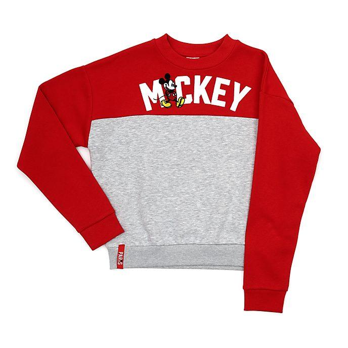 Disney Store Mickey Mouse Paris Ladies' Sweatshirt