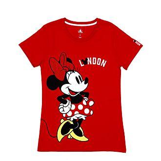 Camiseta London Minnie Mouse para mujer, Disney Store