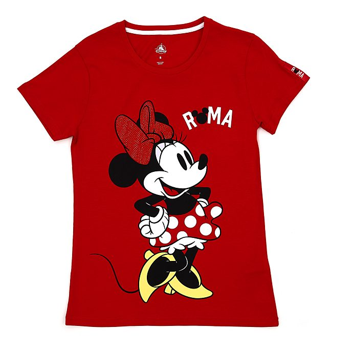 Camiseta Roma Minnie Mouse para mujer, Disney Store