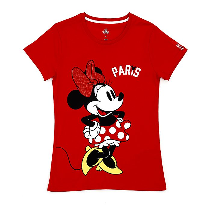 Camiseta Paris Minnie Mouse para mujer, Disney Store