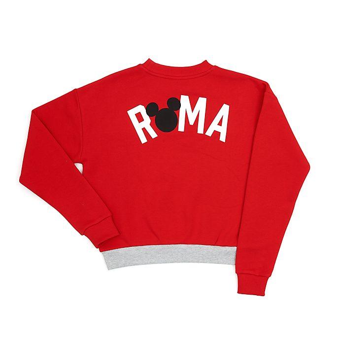 Disney Store Mickey Mouse Roma Ladies' Sweatshirt