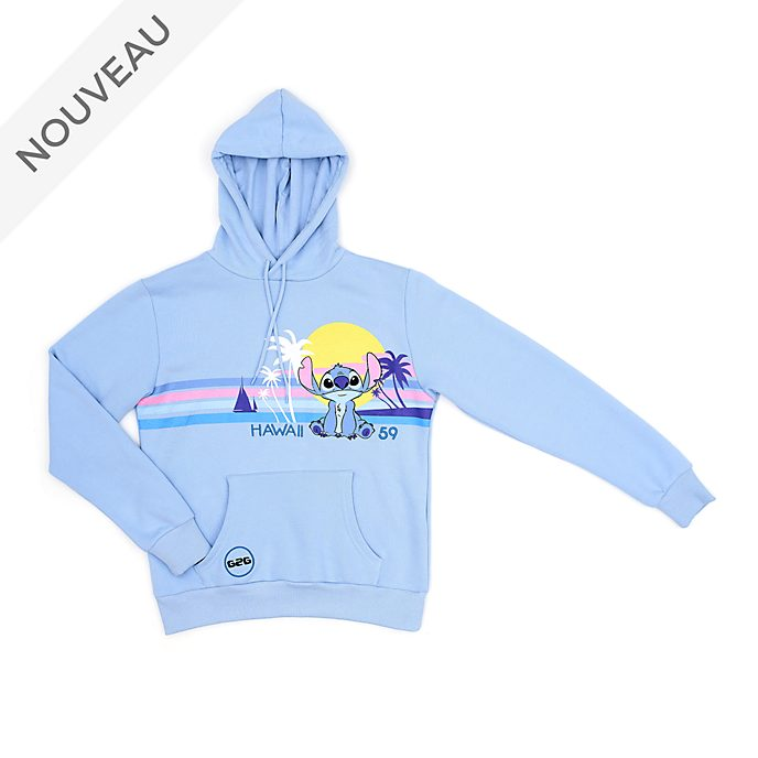 Disney Store Sweatshirt à capuche Stitch pour adultes