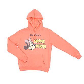 Disney Store - Minnie Maus - Kapuzensweatshirt für Erwachsene im Vintage-Stil