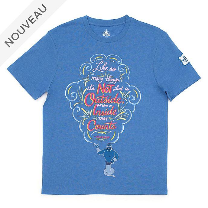 Disney Store T-shirt Génie Disney Wisdom pour adultes, 10sur12