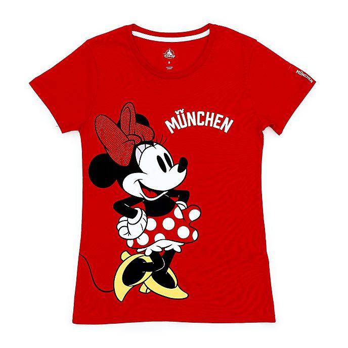 Disney Store T-shirt Minnie Munich pour femmes