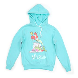 Disney Store The Little Mermaid Hooded Sweatshirt For Adults