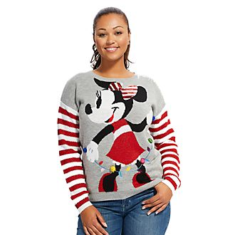 disney store minnie mouse share the magic christmas jumper for adults - Funny Christmas Hats Adults