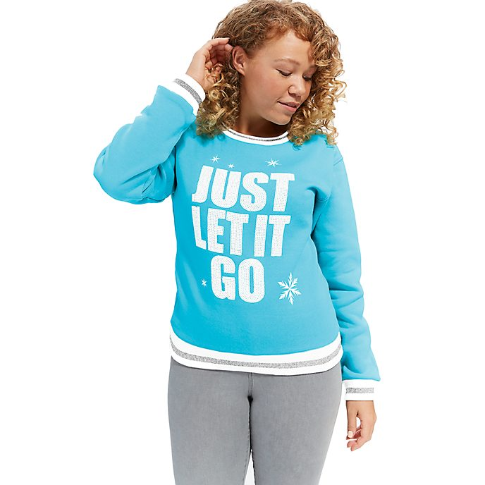 Disney Store Elsa Sweatshirt For Adults, Wreck-It Ralph 2