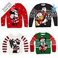 Disney Store - Micky und Freunde - Christmas Family Loungewear Collection - Pullover und Halskette