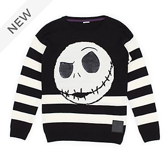 Disney Store Jack Skellington Christmas Jumper For Adults