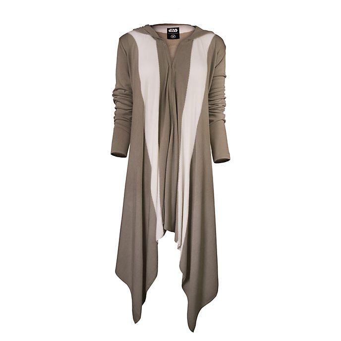Musterbrand Cardigan Jedi à capuche pour femme, Star Wars