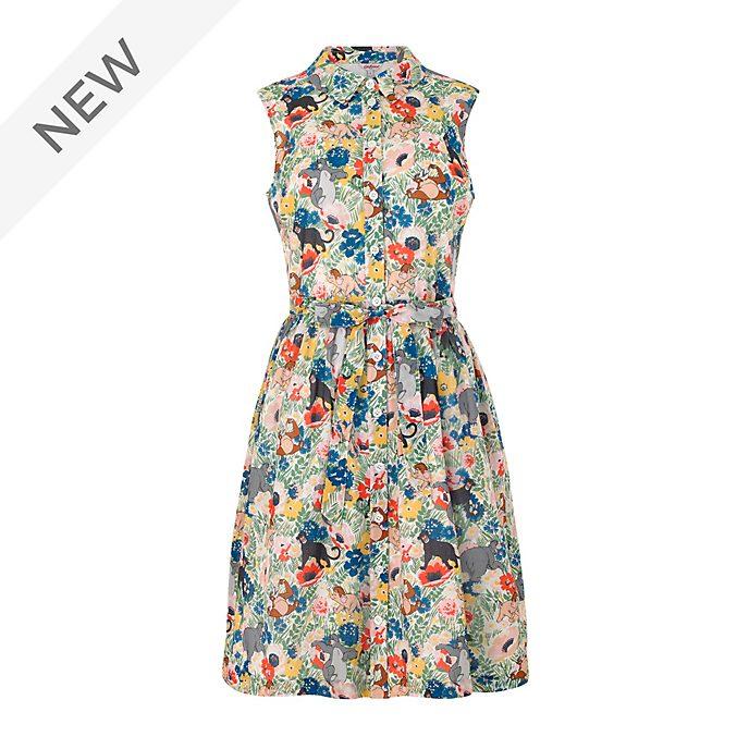 Cath Kidston The Jungle Book Ladies' Sleeveless Shirt Dress