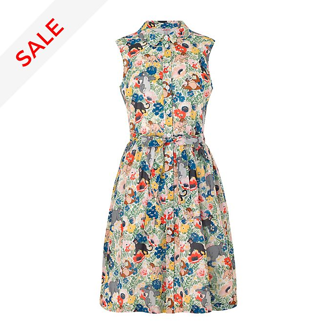 Cath Kidston The Jungle Book Ladies' Sleeveless Shirt Dress