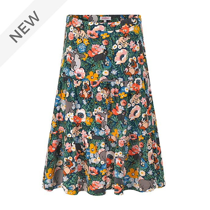 Cath Kidston The Jungle Book Tiered Midi Skirt For Adults