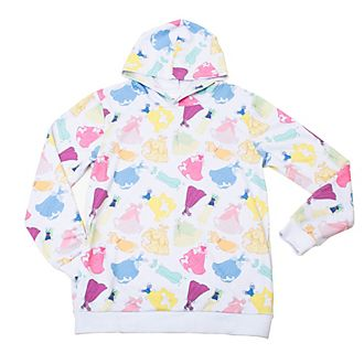 Cakeworthy Disney Princess Paper Doll Hooded Sweatshirt For Adults