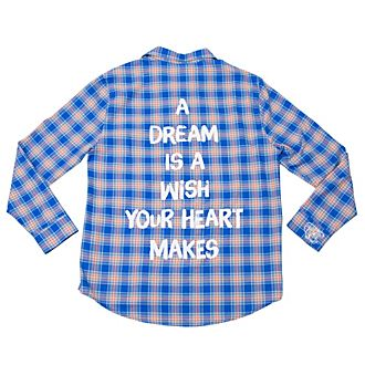 Cakeworthy Cinderella Checked Shirt For Adults