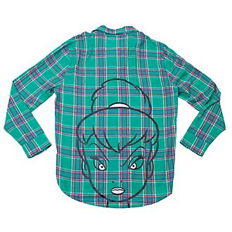 Cakeworthy Tinker Bell Checked Shirt For Adults