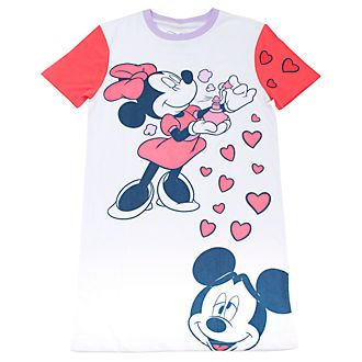 Cakeworthy T-shirt Mickey et Minnie Mouse pour adultes