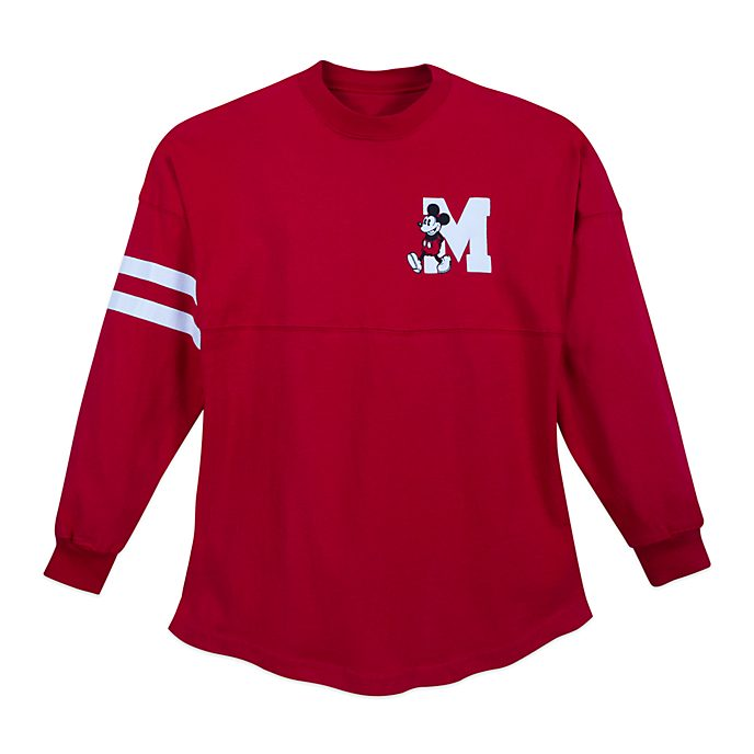 Disney Store Sweat Spirit Jersey Mickey rouge pour adultes