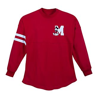 Disney Store Mickey Mouse Red Spirit Jersey for Adults