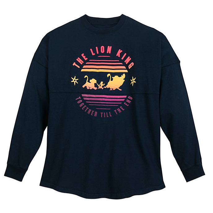 Disney Store Sweat Spirit Jersey Le Roi Lion pour adultes, collection Oh My Disney