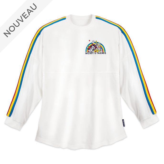 Disney Store Sweatshirt Mickey et ses Amis Spirit Jersey pour adultes