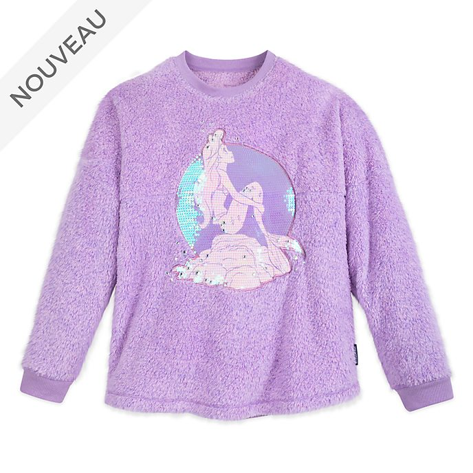 Disney Store Sweatshirt La Petite Sirène Spirit Jersey pour adultes
