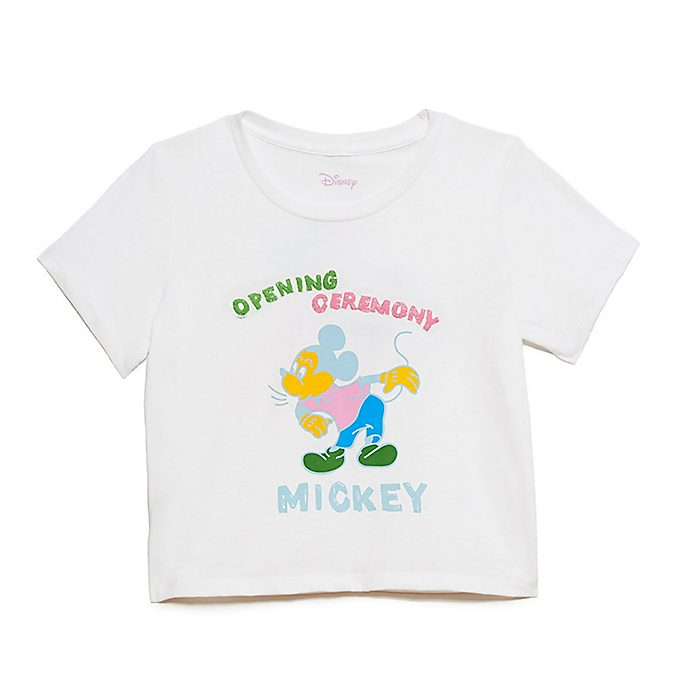 703f9ef7b77044 Opening Ceremony Mickey Mouse Ladies  Crop Top